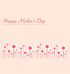 Art of mother day background vector