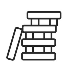 board game icon teamwork competition vector image