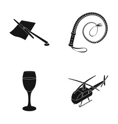 Car alcohol and or web icon in black styleanimal vector