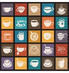 Coffee cup and Tea cup vector