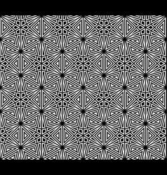 Seamless traditional japanese kumiko ornament vector