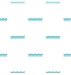 Water pattern flat vector