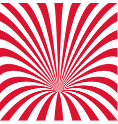 Curved ray burst background - from curved stripes vector