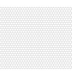 Honey comb seamless pattern vector image