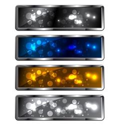 sparkling backgrounds vector image