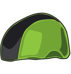Green Helmet vector image vector image