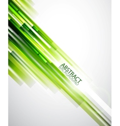 Abstract green lines background vector