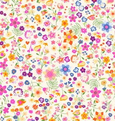 Ditsy flowers vector