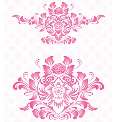 Ornament for valentine vector image vector image