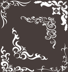 pattern for the frame vector image vector image