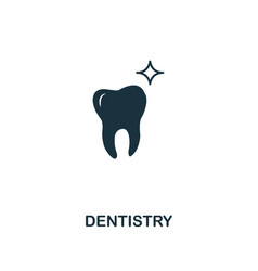 dentistry icon premium style design from vector image