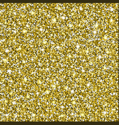 gold glitter seamless pattern background vector image