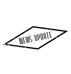 News update rubber stamp vector