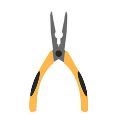 Pliers flat icon vector
