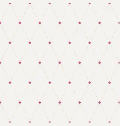 Seamless flower polka pattern vector