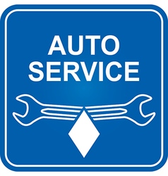Sign service vector