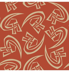 Soviet symbols of hammer and sickle seamless vector