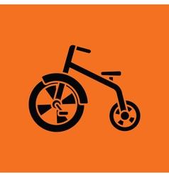 Baby trike ico vector