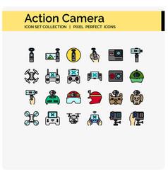 Acton camera color vector