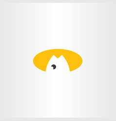 Fish oil icon logo icon symbol vector