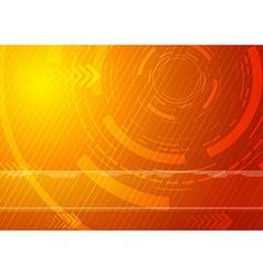 Sunburst - Technology background vector