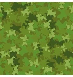 Camouflage Seamless Background Woodland Style vector image