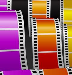 Film stripes vector image