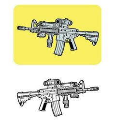 Weapon 2 vector image vector image