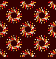 abstract seamless pattern symmetric geometric vector image