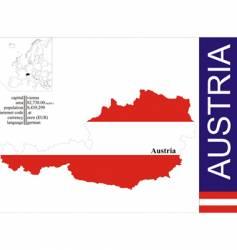 Austria vector image