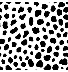 Dalmatian dog seamless pattern vector