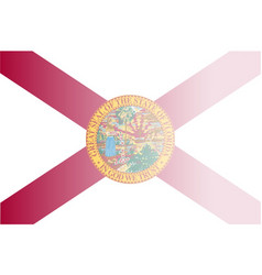 Florida state flag fade background vector
