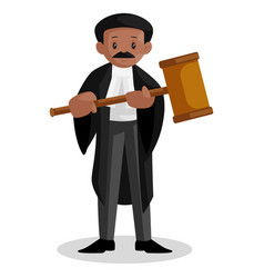 Lawyer cartoon vector