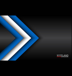 Modern overlayed arrows with scotch colors and vector