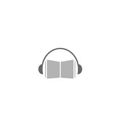 Music education logo design template vector
