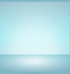 soft mint color of blue gradient background vector image