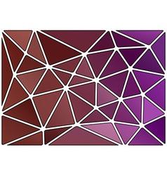 triagles purple white vector image vector image