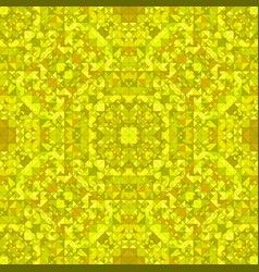 yellow seamless abstract triangle mosaic tile vector image