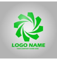 Logo green vector