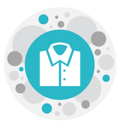 of business symbol on shirt vector image