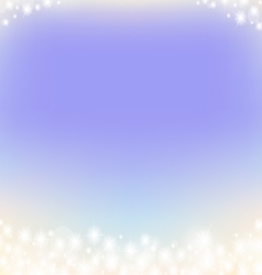 purple dreamy fairy tale abstrack sparkling frame vector image vector image