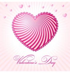 Valentine's day graphics vector image