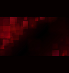 red abstract background of blurry squares vector image vector image