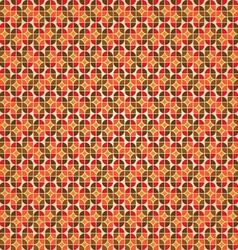 Warm retro background vector image