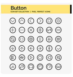 Botton outline vector
