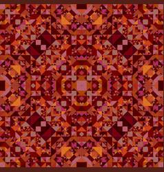Brown repeating kaleidoscope pattern background vector