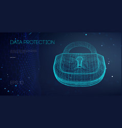 Data protection binary lock it support vector
