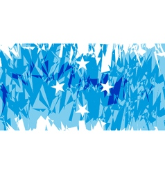 Flag of Micronesia vector image