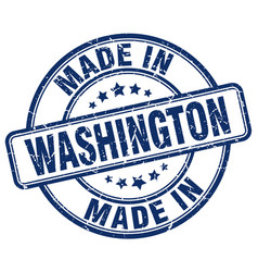 Made in washington vector