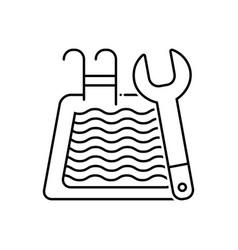 Pool maintenance vector